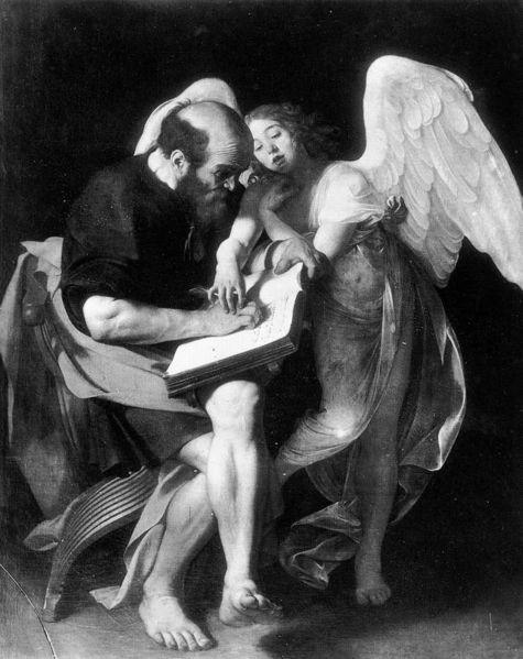 Caravaggio, San Matteo e l'Angelo (prima versione)
