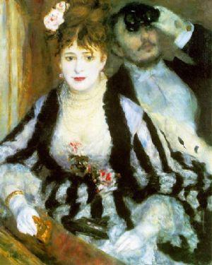 Pierre Auguste Renoir Il Palco