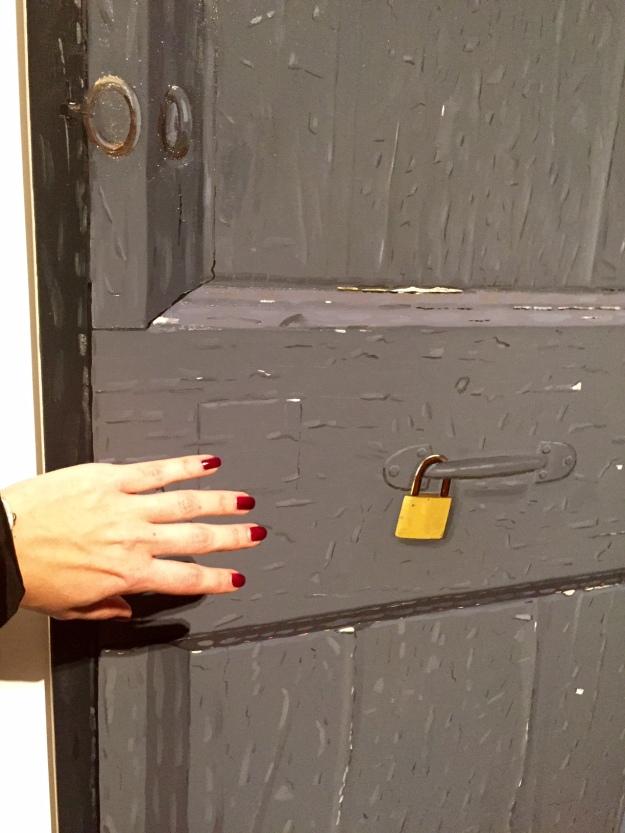 """Porta. Trompe l'oil. Accademia di Francia Villa Medici a Roma. Alias """"La tentazione"""" Foto Safarik Art Magazine"""