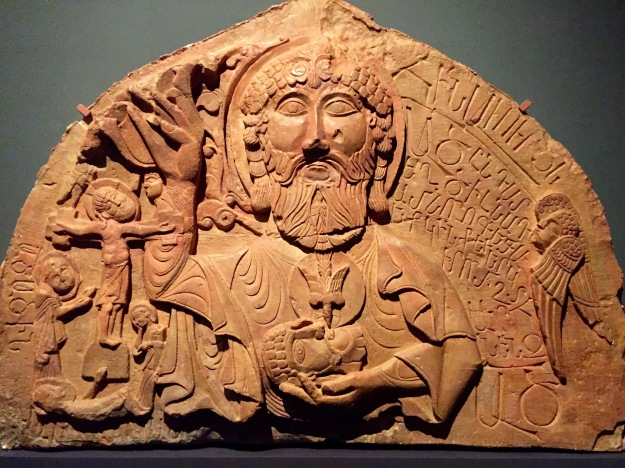 Timpano di un portale con altorilievo raffigurante Dio Padre, XIII_XIV sec. Foto Safarik Art Magazine