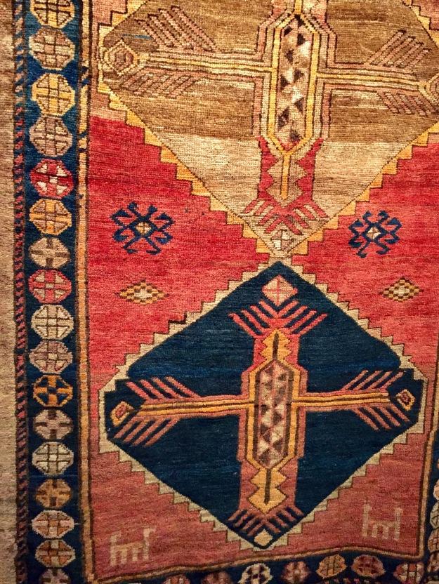 Mostra Armenia, Tappeto. Foto Safarik Art Magazine