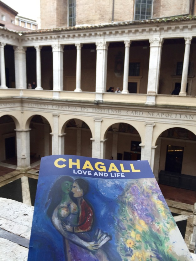 Mostra Chagall, Love and Life, a Roma al Chiostro del Bramante