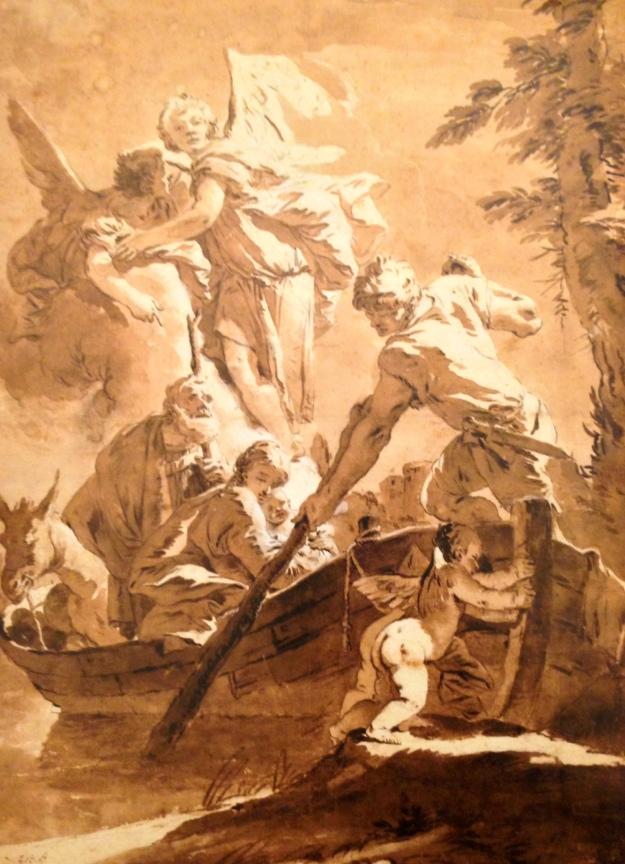 Giambattista Tiepolo, Fuga in Egitto