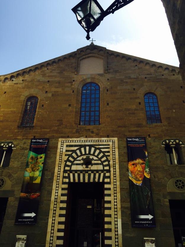 Van Gogh Alive. Mostra a Firenze. Foto Safarik Art Magazine