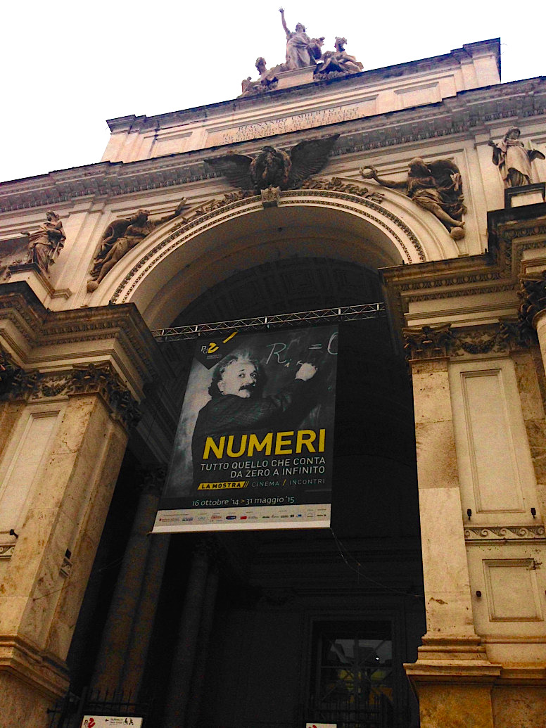 Numeri tutto quello che conta da zero a infinito la for Mostra palazzo delle esposizioni