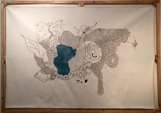 Animale intessuto. Rachele Palladino con la collaborazione di Khudadad Hazara. Foto Safarik Art Magazine