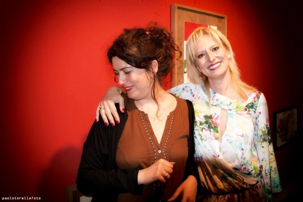 Rachele Palladino and Maria Isabella Safarik. Foto Torella