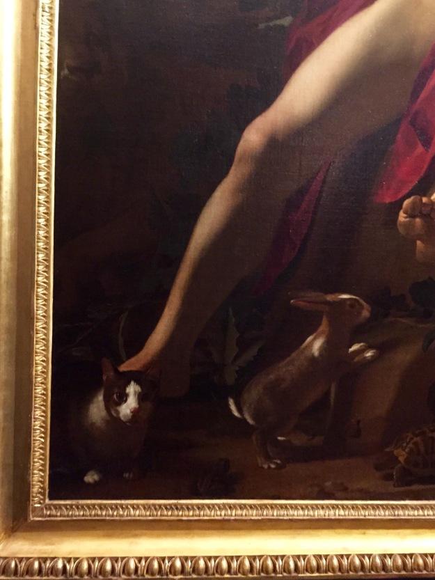 Gerrit van Honthorst, Orfeo, particolare. Mostra Gherardo delle Notti agli Uffizi di Firenze. Foto Safarik Art Magazine
