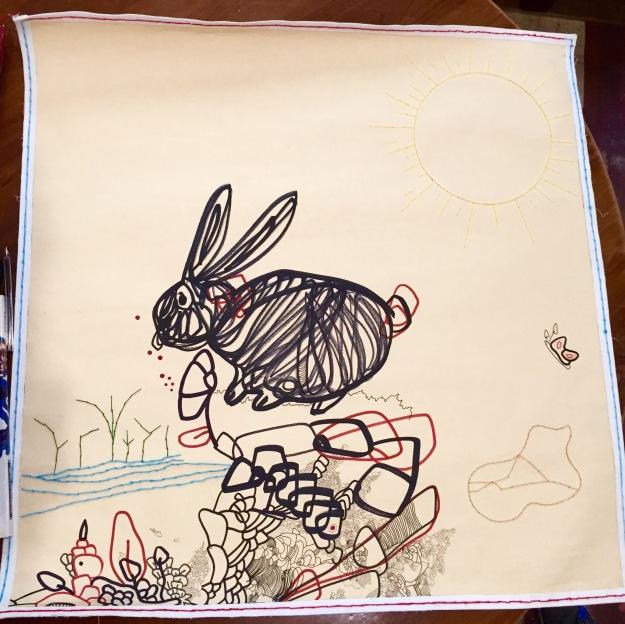 The Rabbit. Rachele Palladino