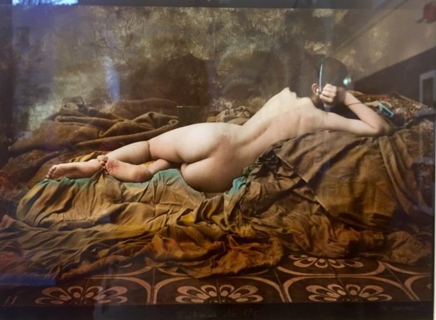 Jan Saudek, Walkman, foto, ca. 1990. Foto Safarik Art Magazine