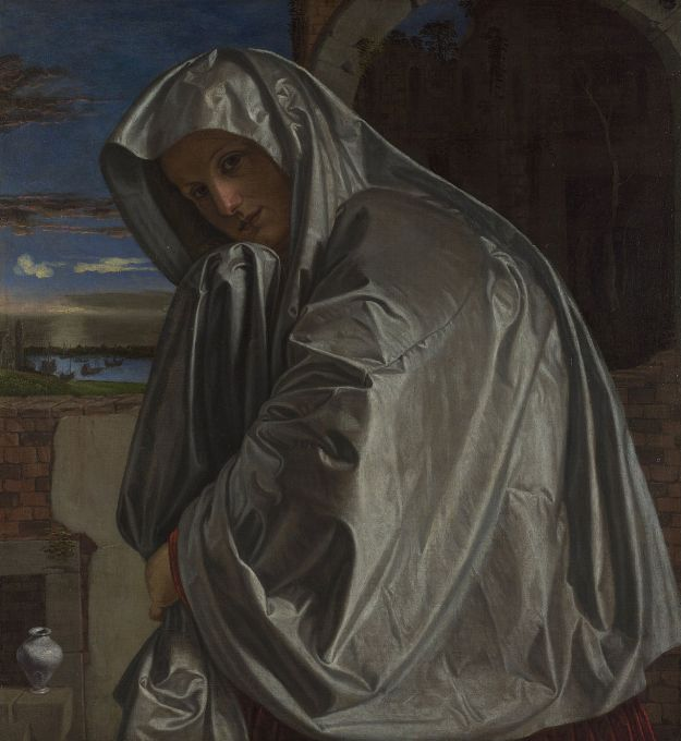 Giovanni Girolamo Savoldo, Maria Maddalena, Londra, National Gallery. Ph. AM