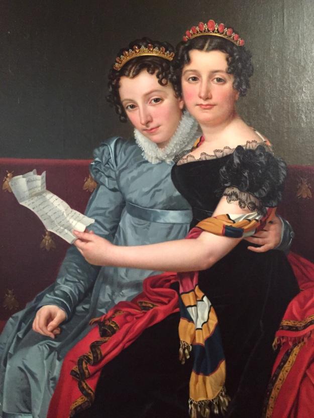 Jacques-Louis David, Zenaide e Charlotte Bonaparte. Roma, Museo Napoleonico, 1821