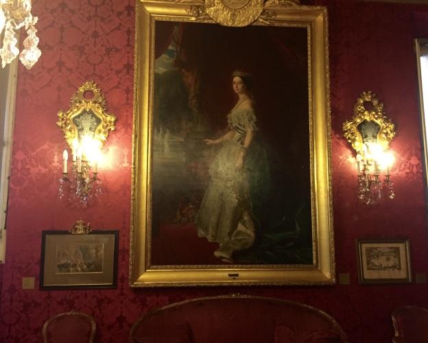 Franz Xavier Winterhalter (1805-1873), L'Imperatrice Eugeniam Roma, Museo Napoleonica, olio su tela 1853