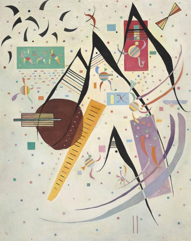 Wassily Kandisnky, Pointes noires, 1937, già Milano collezione privata, Christie's New York 1914