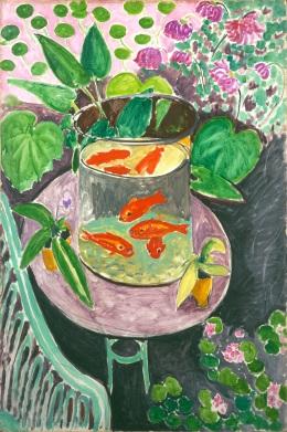 Henri Matisse, I pesci rossi