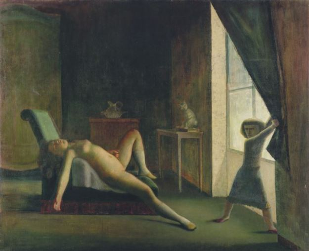 La Camera - La Chambre, 1952-1954, olio su tela, 189,9 x 160, Washington, Hirshhorn Museum and Sculpture Garden