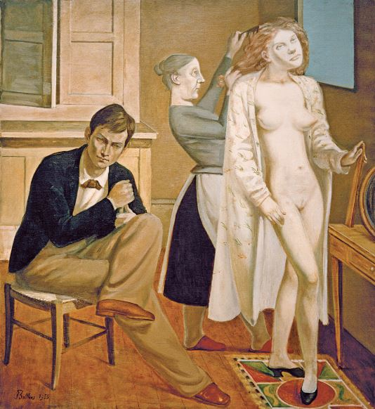 Balthus, La Toilette de Cathy, 1933 – Paris, Centre Pompidou