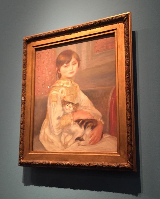 Pierre-Auguste Renoir, Julie Manet con gatto