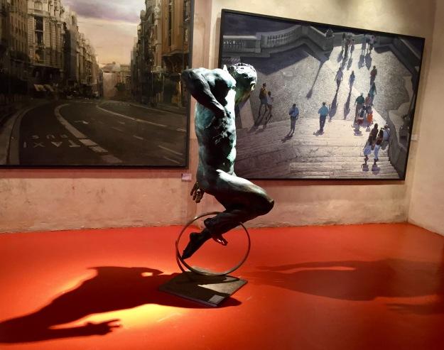 Prima sala. Barcellona, MEAM, Museo Europeo d'Arte Moderna. Foto Safarik Art Magazine
