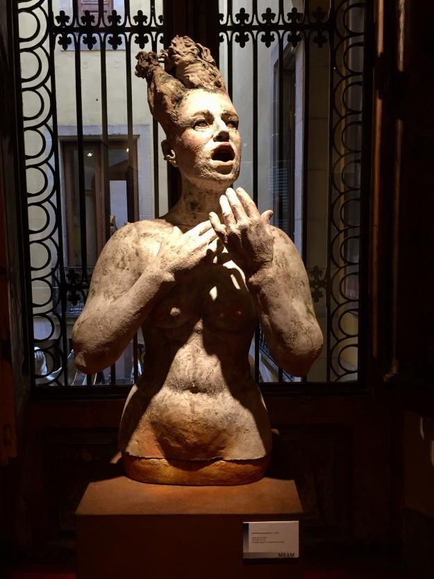 """Ana Rosenzweig (Messico, n. 1956), """"Mujer de sal"""" (2009), Barcellona, MEAM, Museo Europeo d'Arte Moderna. Foto SAM"""