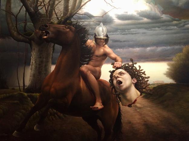 """Mikel Olozabal (Vitoria, n. 1977), """"El proceso de trasformacion del miedo en arte"""" (Il processo di trasformazione del dolore in arte) (2008), Barcellona, MEAM, Museo Europeo d'Arte Moderna. Foto SAM"""