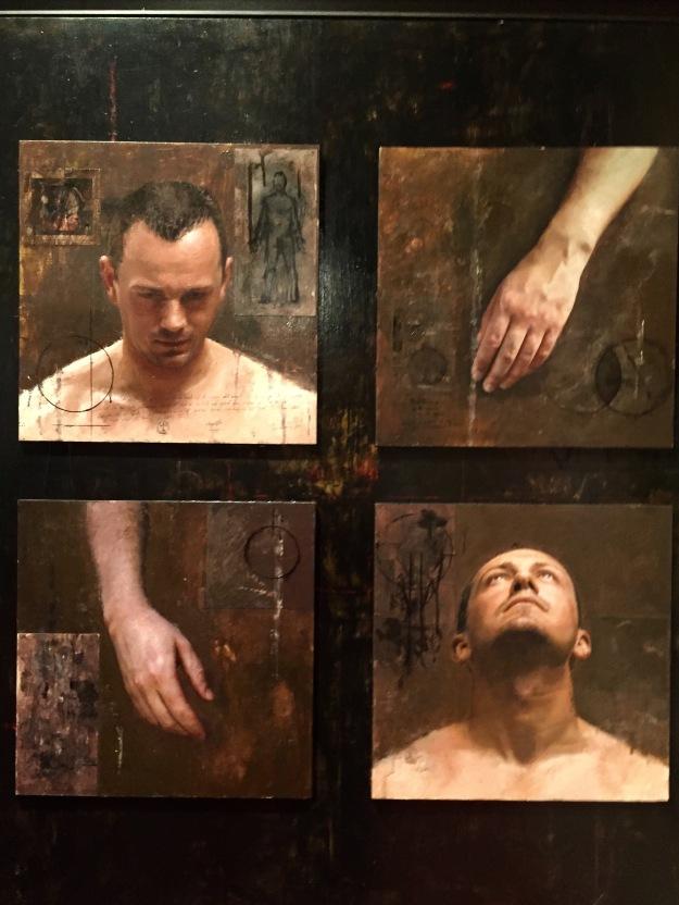 "Miguel Angel Moya (Valencia, n. 1970), ""Retratos"" (2007), Barcellona, MEAM, Museo Europeo d'Arte Moderna. Foto SAM"