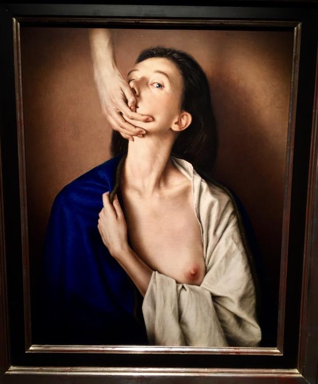"Dino Valls (Zaragoza, n. 1959), ""In Memoriam"" (1993), Barcellona, MEAM, Museo Europeo d'Arte Moderna. Foto SAM"