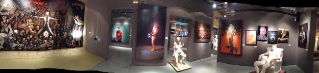 Barcellona, MEAM, Museo Europeo d'Arte Moderna. Foto Safarik Art Magazin