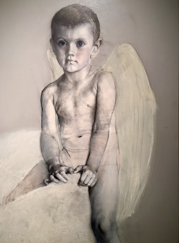 """Doriano Scazzosi (Milano, Italia, n. 1960), """"Angel"""" (2006), Barcellona, MEAM, Museo Europeo d'Arte Moderna. Foto SAM"""