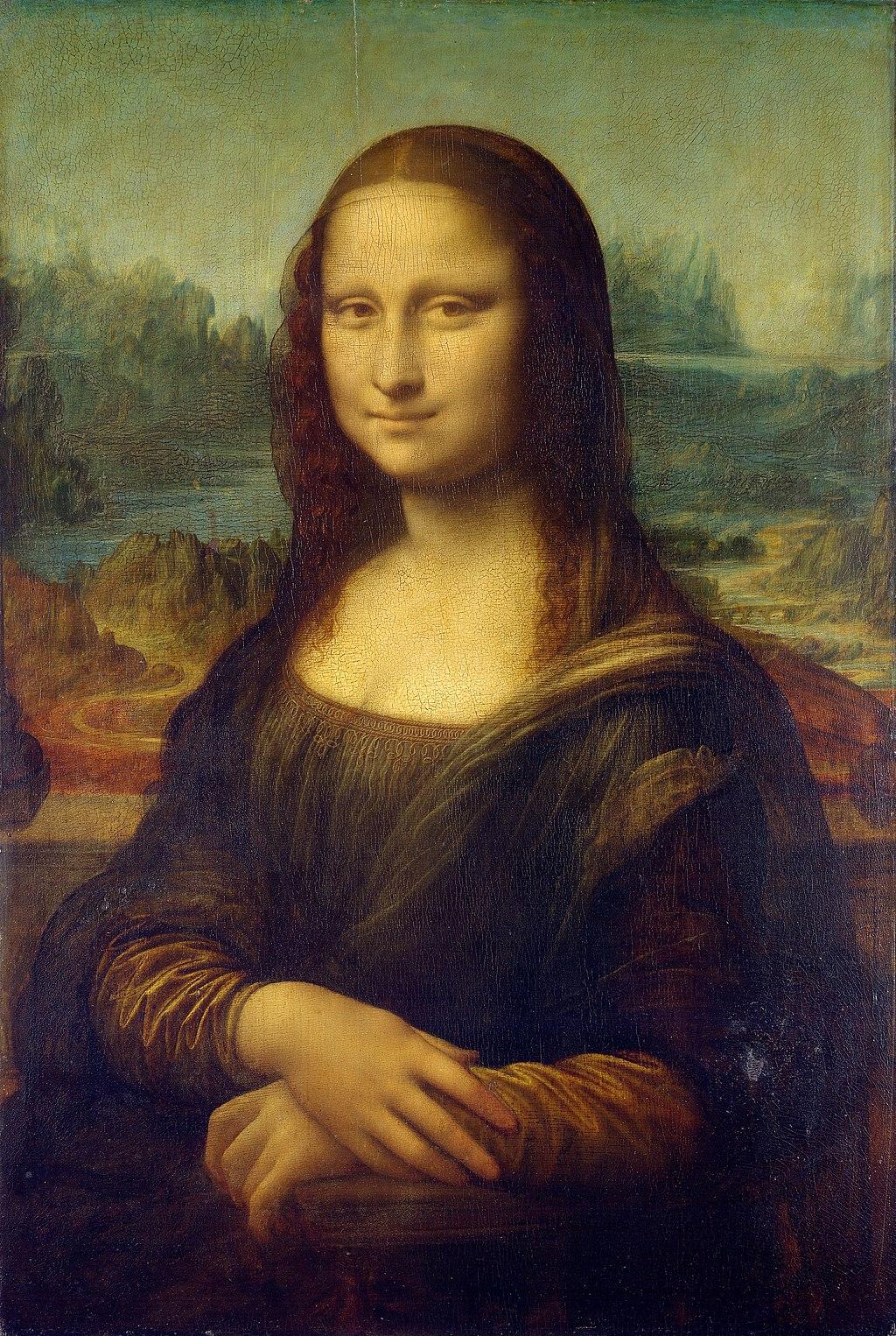 1. Gioconda – Leonardo da Vinci (c. 1503-04) - Louvre, Parigi