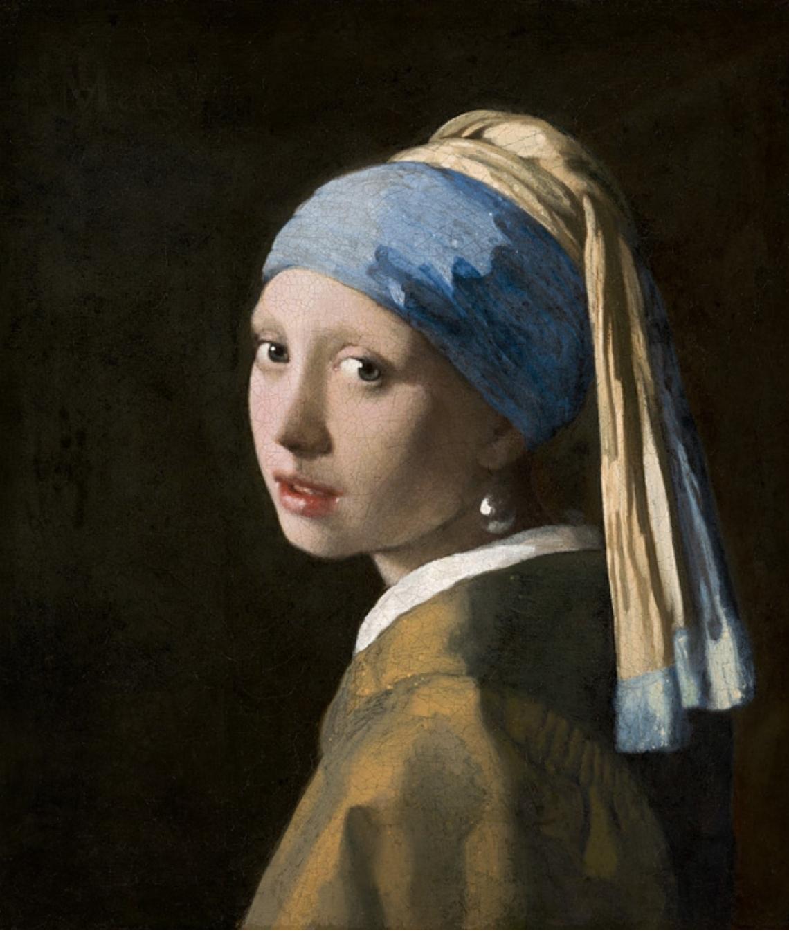 2. Ragazza col turbante – Johannes Vermeer (c. 1665-66) - Mauritshuis, L'Aia