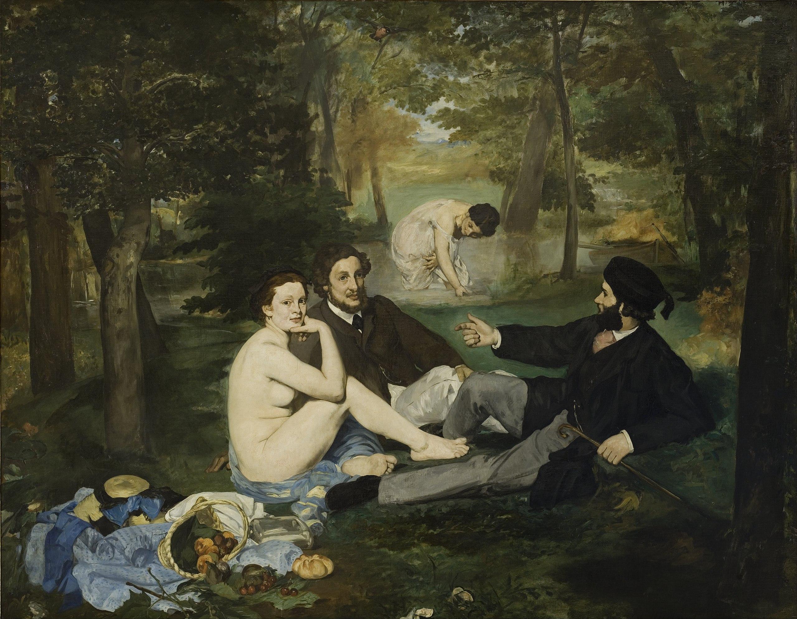 21. Colazione sull'erba - Édouard Manet (1863) - Musée d'Orsay, Parigi