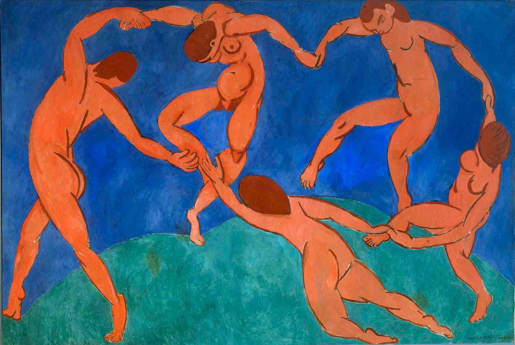 37. La Danza (La Danse) - Henri Matisse (1909) – MOMA, New York