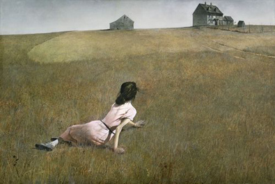 39. Christina's World - Andrew Wyeth (1948) – Museum of Modern Art, New York