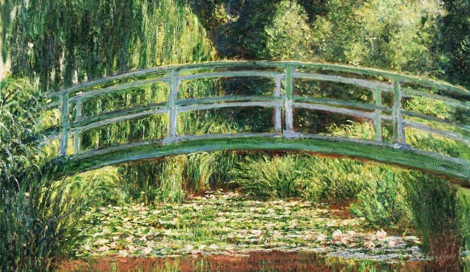 40. Il ponte giapponese - Claude Monet (1899) - Musée d'Orsay, Parigi