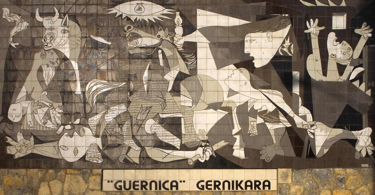 5. Guernica – Pablo Picasso (1937) - Museo Nacional Centro de Arte Reina Sofía, Madrid
