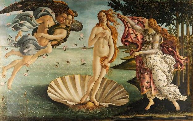 6. Nascita di Venere – Sandro Botticelli (1483-85) – Uffizi, Firenze