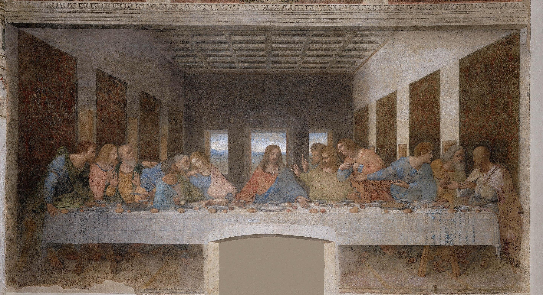7. Ultima Cena – Leonardo da Vinci (1494-98) – Santa Maria delle Grazie, Milano