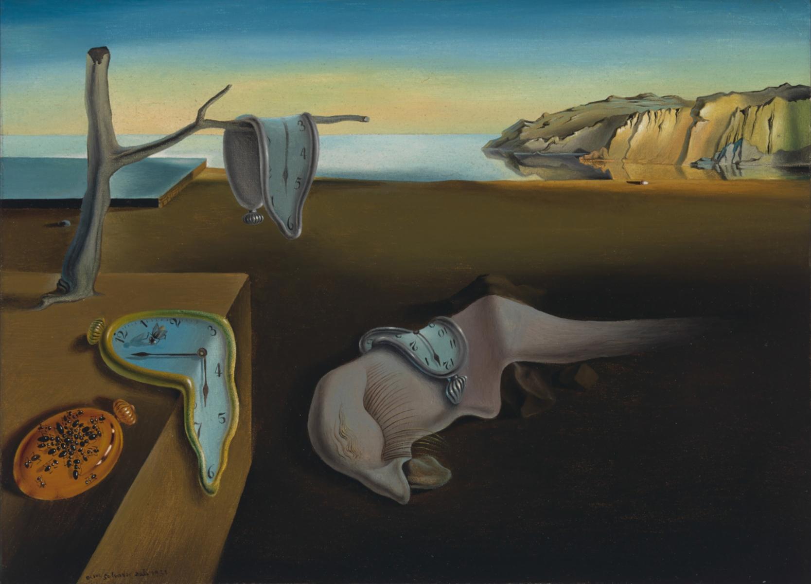 8. La persistenza della memoria - Salvador Dalì (1931) – MOMA, New York